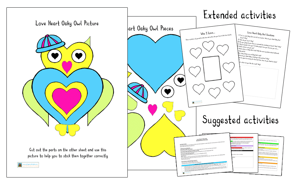 Early Years Story Box - Activity Packs
