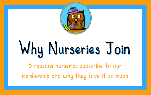 5 Reasons Nurseries Subscribe To Our Teaching Resources